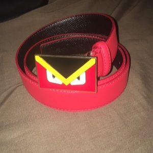 Fendi Accessories - RED FENDI MONSTER